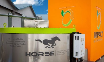HORSE, the machine that transforms organic waste into electricity and compost