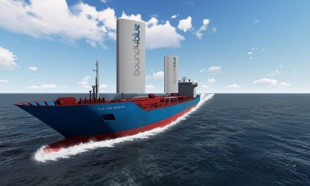Rigid sails to reduce marine transport fuel consumption by 40%