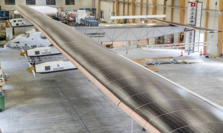 Solar Impulse II.  Around the world without fuel in 2015