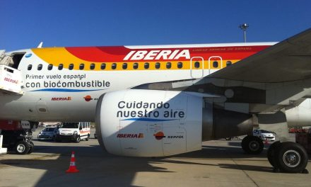They produce the first batch of biofuel for airplanes in Spain