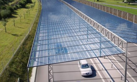 A sunroof for German highways could supply 1/3 of the country