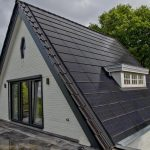 Black solar tiles and facades for solar energy production