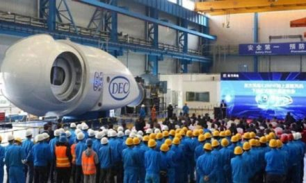 China wants to dominate the wind market with its 10 MW turbine