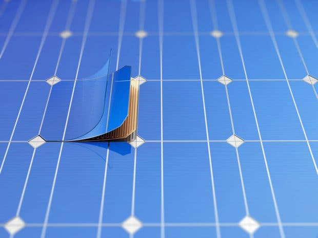 Inexpensive and scalable microconcentrators that absorb more light and increase the power of solar cells up to 20 times