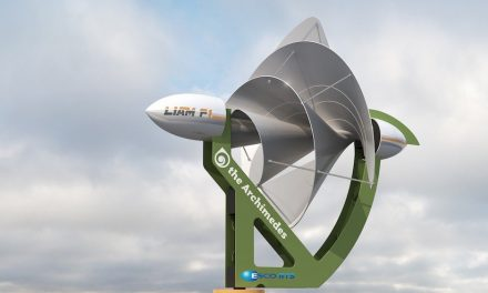 LIAM F1: small urban wind turbine that can make homes energy self-sufficient
