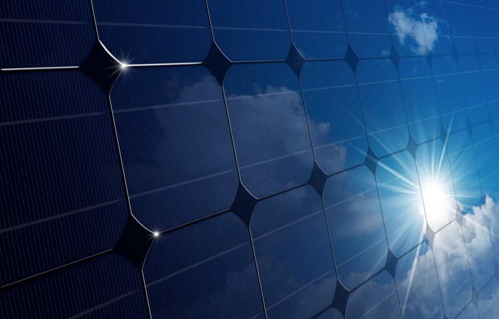 Mirror-shaped photovoltaic panels to extract more electricity from the heat