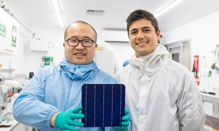 New commercially efficient solar cells without relying on precious and expensive metals