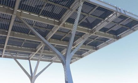 Photovoltaic canopies and pergolas, a new idea for generating solar energy
