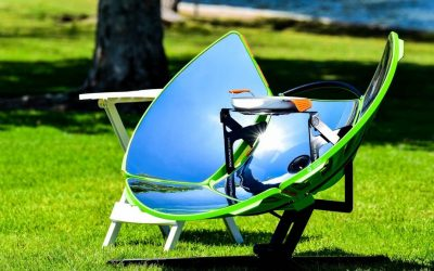 SolSource Sport, the zero-emission portable solar cooker five times faster than a grill