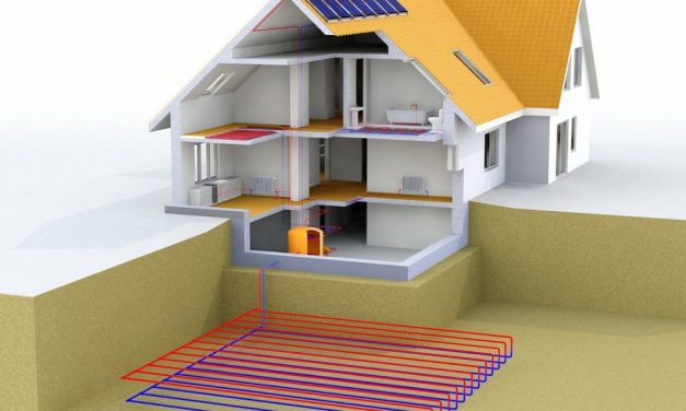 System that allows homes to be air-conditioned from (and thanks to) the ground
