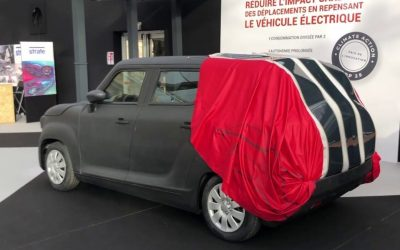 The solar blanket that allows you to charge a parked electric car