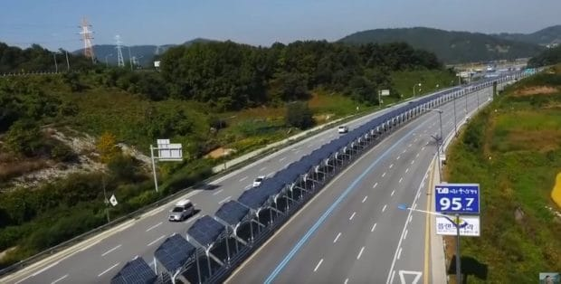The solar-paneled bike path in the middle of a South Korean highway everyone's talking about