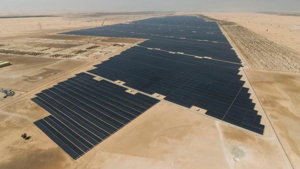 A new solar project to beat the record of the giant Noor Abu Dhabi