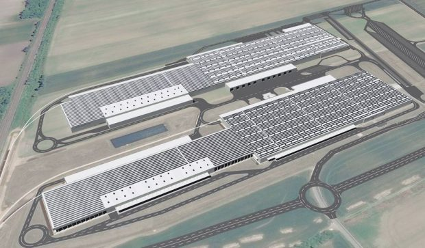 Audi projects the largest photovoltaic system on the roofs of Europe