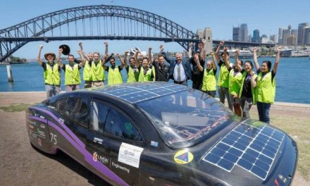 Australian students set new world efficiency record with their solar car