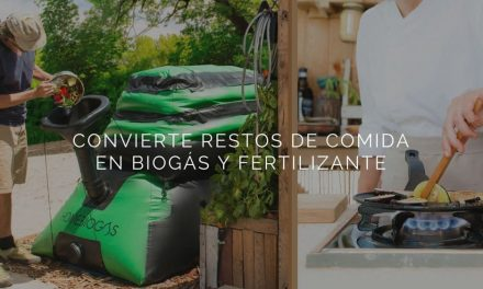 HomeBiogas 2.0: domestic machine to transform your leftover food into biogas and fertilizers