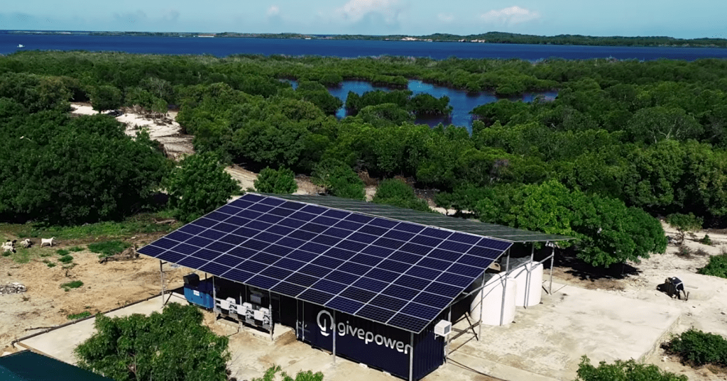 Kenya installs first solar power plant that turns ocean water into drinking water