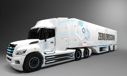 New Class 8 hydrogen electric truck from the union of Hino and Toyota