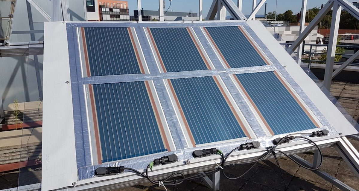 New record in Germany, transparent organic solar cells with an efficiency of 15%
