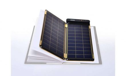 Solar Paper, one of the thinnest and lightest solar chargers on the market