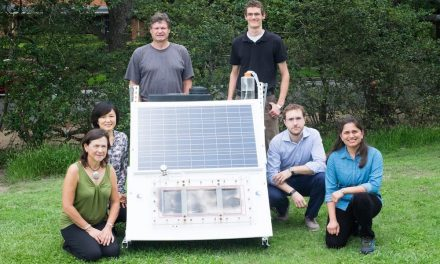 They design a seawater desalination system only using solar energy