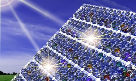 Tiny glass beads on solar cells help trap 20% more solar energy