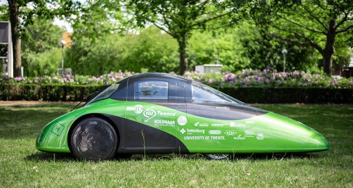 World champion Green Team Twente launches one of the world's most efficient hydrogen cars
