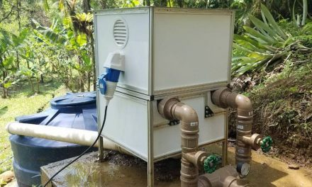 Brazilians create micro hydroelectric power station capable of powering 5 houses