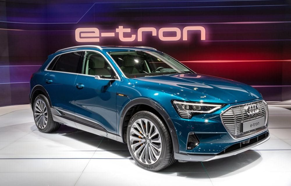 Do you want a solar powered electric vehicle?  Buy an Audi E-Tron