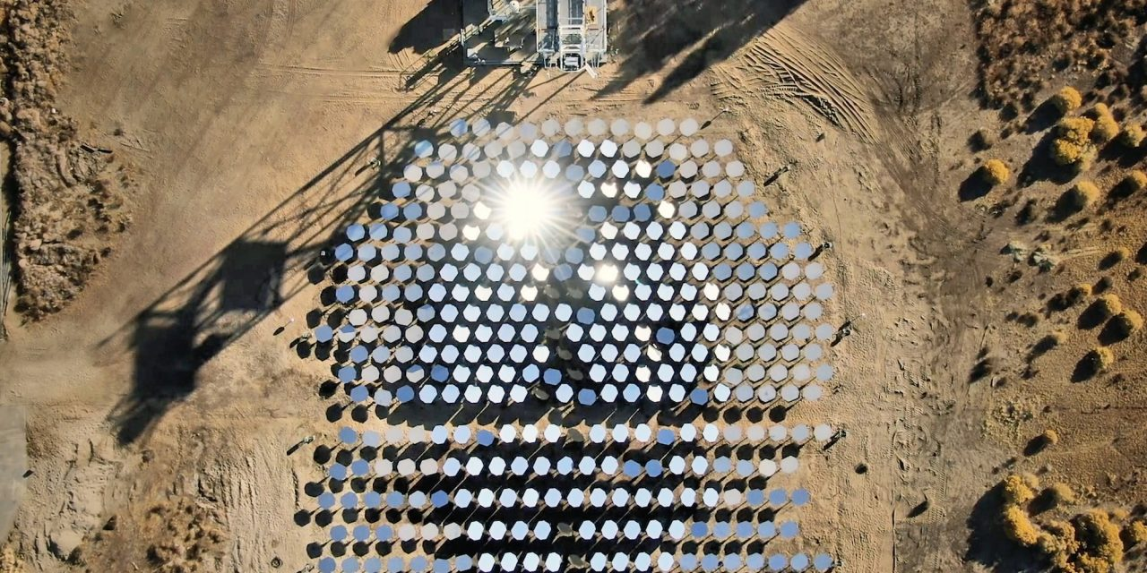 Heliogen, Bill Gates' commitment to the world's most powerful concentrated solar thermal energy