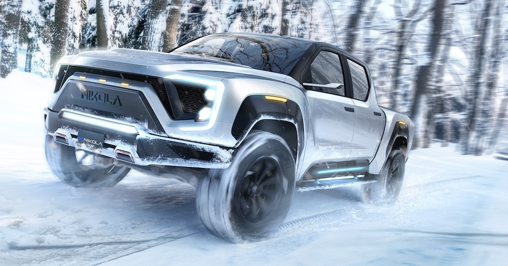 Nikola Badger, the hydrogen pick-up with 965 km of autonomy