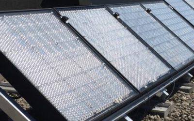 Solar cells at record concentration of 29% indicate low cost manufacturing