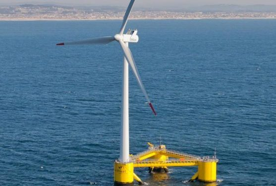 The largest floating wind turbine in the world will be installed in Portugal